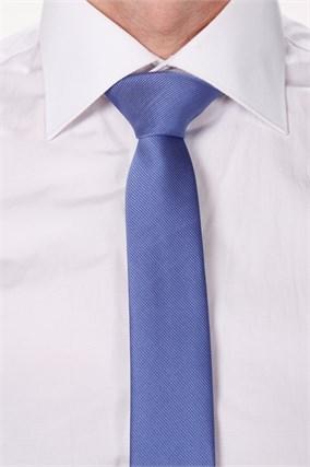 Галстук BROSTEM 7,5 сине-сиреневый - фото 7597