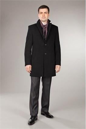 Зимнее пальто 825У-ЧГ на утеплителе - фото 7642