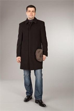 Коричневое р.48/176 зимнее пальто 816УС-КЕ - фото 7646