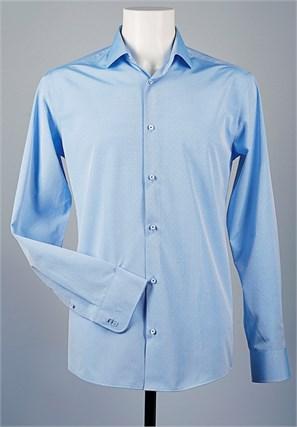 Рубашка мужская VESTER 70714S-05 приталенная - фото 9710