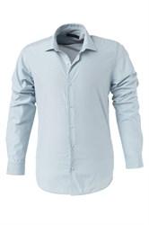 Мужская рубашка P-4014-01 Bawer приталенная