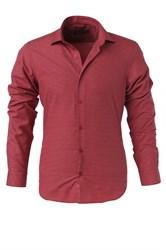 Мужская рубашка P-4014-02 Bawer приталенная
