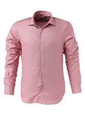 Мужская рубашка P-4014-10 Bawer приталенная