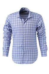 Мужская рубашка P-4014-12 Bawer приталенная