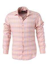 Мужская рубашка P-4014-14 Bawer приталенная