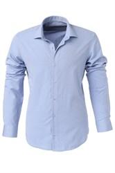 Мужская рубашка P-4015-19  Bawer полуприталенная