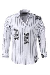 Мужская рубашка P-4015-22  Bawer