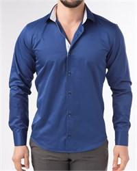 Мужская рубашка хлопок 100 %  P-4003-02 Bawer
