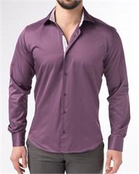 Мужская рубашка хлопок 100 %  P-4003-05 Bawer