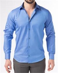 Мужская рубашка хлопок 100 %  P-4003-12 Bawer