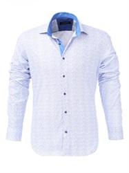 Мужская рубашка хлопок 100 %  P-4006-09 Bawer