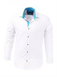 Мужская рубашка хлопок 100 %  P-4006-11 Bawer