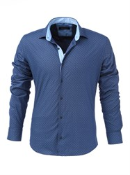 Мужская рубашка хлопок 100 %  P-4006-12 Bawer