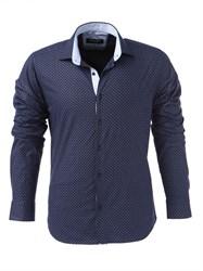 Мужская рубашка хлопок 100 %  P-4006-18 Bawer