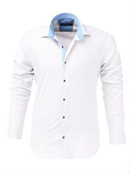 Мужская рубашка хлопок 100 %  P-4006-27 Bawer