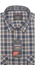 Рубашка мужская хлопок 100 % SH653 BROSTEM