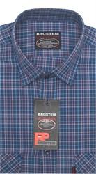 Рубашка мужская хлопок 100 % SH655 BROSTEM