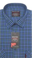 Рубашка мужская хлопок 100 % SH657-2 BROSTEM