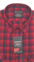 Рубашка мужская хлопок 100 % SH700 BROSTEM полуприт.