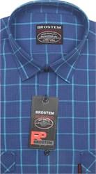 Рубашка мужская хлопок 100 % SH715 BROSTEM полуприт.