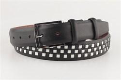 Ремень SEVARO sk3.5-0001 черно-белый