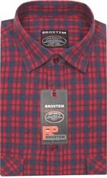 Мужская рубашка шерсть/хлопок KA1711 Brostem
