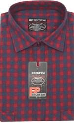 Мужская рубашка шерсть/хлопок Brostem KA2461Е
