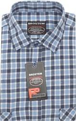 Мужская рубашка шерсть/хлопок Brostem KA2437