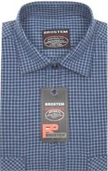 Приталенная рубашка шерсть/хлопок Brostem KA15018B