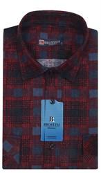 Мужская фланелевая рубашка BROSTEM F98