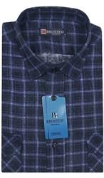 Мужская фланелевая рубашка BROSTEM F99