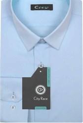 Приталенная р.М рубашка CITY RACE 1122-9
