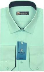 Мужская рубашка из модала и хлопка Brostem 4704-Z приталенная