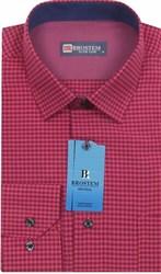 Мужская рубашка хлопок 100 % Brostem BR2 приталенная