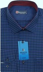 Мужская рубашка хлопок 100 % Brostem BR4 приталенная
