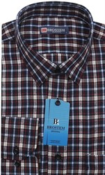 Клетчатая мужская рубашка Brostem KB2867