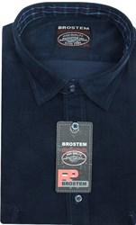 Вельветовая мужская рубашка приталенная хлопок 100 % Brostem V23 Z