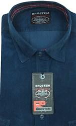 Вельветовая мужская рубашка приталенная хлопок 100 % Brostem V25 Z