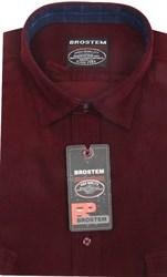Вельветовая мужская рубашка приталенная хлопок 100 % Brostem V5 Z
