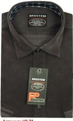 Вельветовая мужская рубашка приталенная хлопок 100 % Brostem V9 Z
