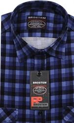 Вельветовая мужская рубашка хлопок полуприталенная Brostem  VT16
