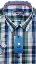 Мужская рубашка с коротким рукавом BROSTEM 7005S-5s-pp