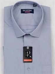 Мужская рубашка с коротким рукавом BROSTEM CVC53s