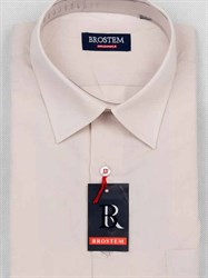 Мужская рубашка с коротким рукавом BROSTEM CVC4s
