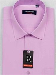 Мужская рубашка большого размера с коротким рукавом BROSTEM CVC9s