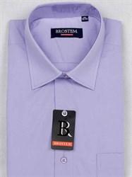 Мужская рубашка большого размера с коротким рукавом BROSTEM CVC8s