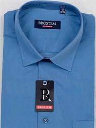 Мужская рубашка большого размера с коротким рукавом BROSTEM CVC45s
