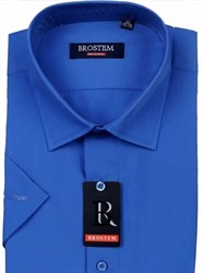 Мужская рубашка большого размера с коротким рукавом BROSTEM CVC41s