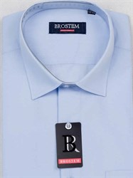 Мужская рубашка большого размера с коротким рукавом BROSTEM CVC27s