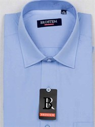 Мужская рубашка большого размера с коротким рукавом BROSTEM CVC23s